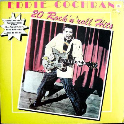 20 Rock 'N' Roll Hits - LP / Eddie Cochran / 1979