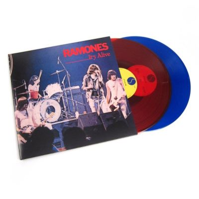 It's Alive (40th Anniversary) - 2LP (Klar Rød & Blå Vinyl) / Ramones / 1978/2020