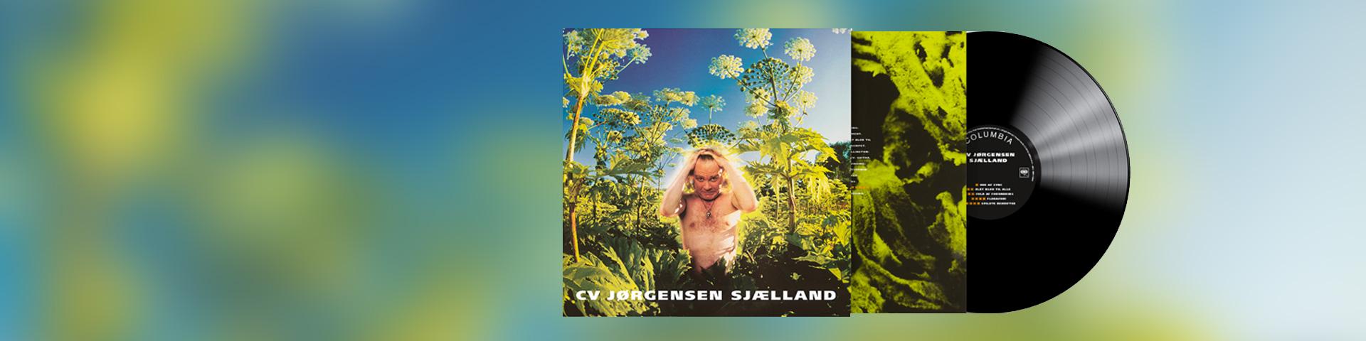 CV Jørgensen - Sjælland vinyl