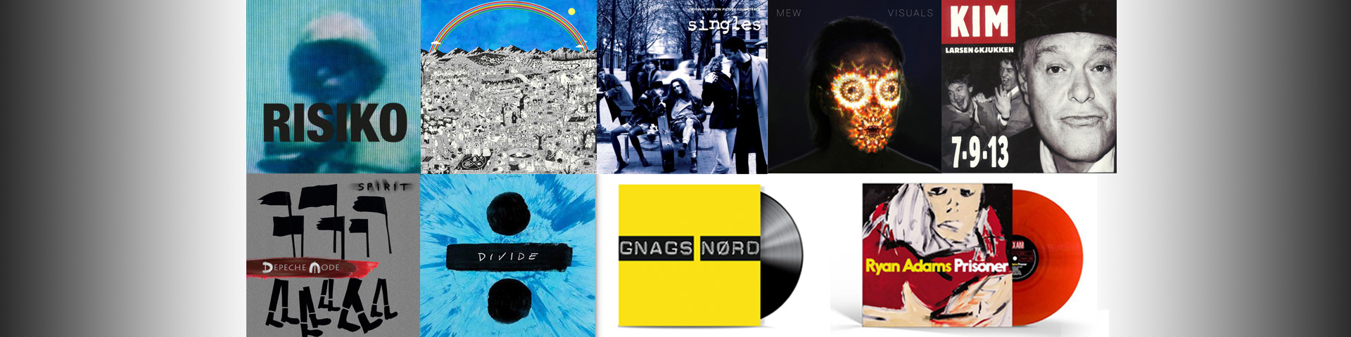 Forudbestillinger af kommende albums