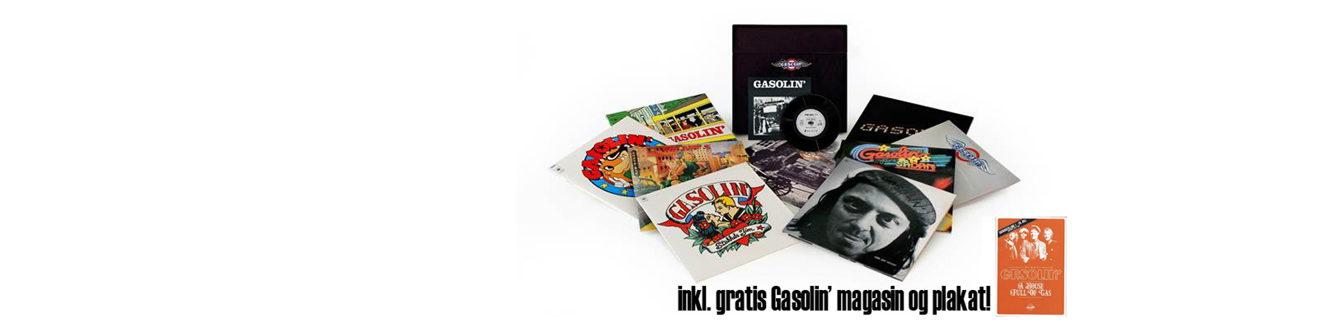 Gasolin - The Black Box Vinyl