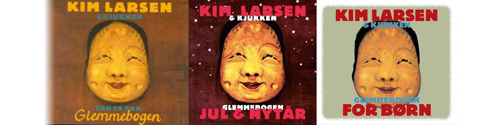 """Kim Larsens """"Glemmebogen"""" udgivelser"""